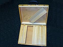 Koffer voor spanplanken