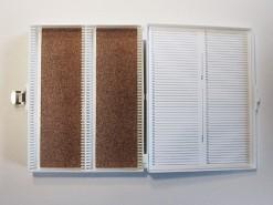 Eenvoudige preparatendoos cap. 100 stuks