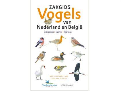 KNNV45 Zakgids Vogels van Nederland en Belgie