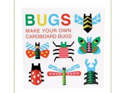 Bug01 Mapje met 10 kartonnen insecten 7