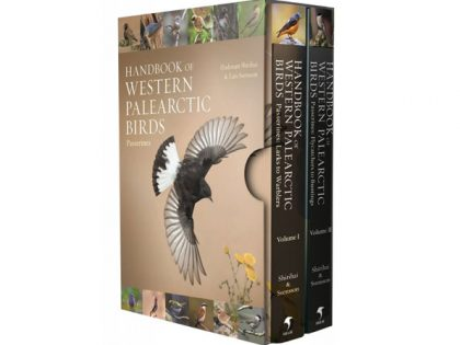 HB02 handbook-of-western-pal.-birds-vol1+2 cassette