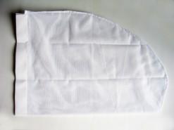 Alleen het witte net - 30 cm.