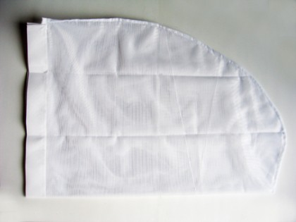 Alleen het witte net – 30 cm
