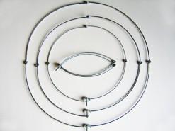Beugel voor telescoopstok - 50 cm.