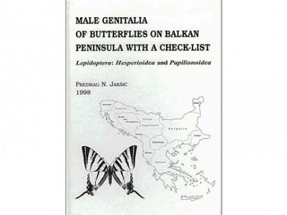 Male Genitalia of Butterflies on Balkan 1