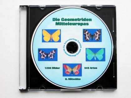 CDrom: Die Geometriden Mitteleuropas 1