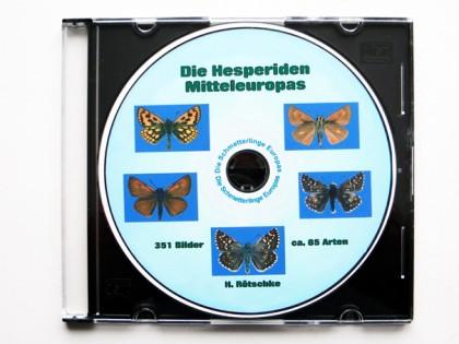 CDrom: Die Hesperiidae Europas 1