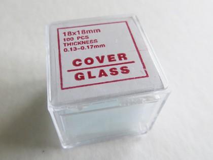 Dekglaasjes rond 18mm