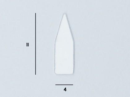Glue boards Transparent 4x11mm