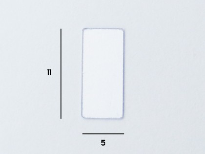 Glue boards Transparent 5x11mm