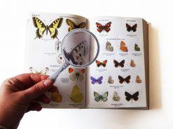 15.979 Boekenlegger vergrootglas met boek
